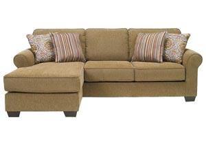 Corridon Burlap Sofa Chaise