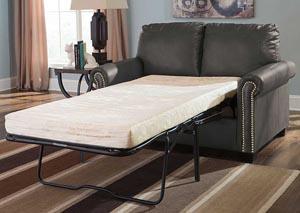 Lottie DuraBlend Slate Twin Sofa Sleeper