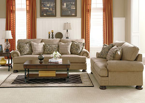 Keereel Sand Sofa & Loveseat,Signature Design by Ashley