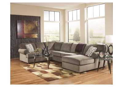 Jessa Place Dune Right Facing Chaise Sectional