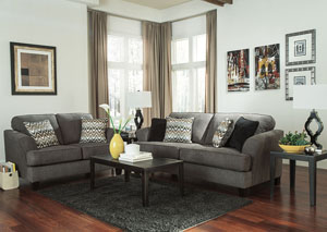 Gayler Steel Sofa & Loveseat