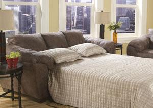 Jathan Mocha Full Sofa Sleeper