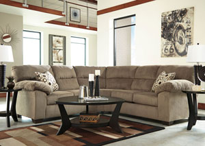 Roldan Mocha Sectional