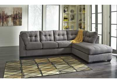 Maier Charcoal Right Arm Facing Chaise End Sectional