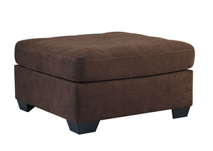 Maier Walnut Oversized Accent Ottoman,Benchcraft