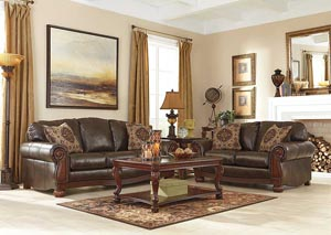 Rodlann DuraBlend Antique Sofa & Loveseat