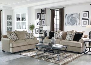 Heflin Pebble Sofa & Loveseat