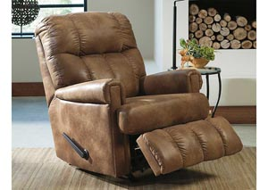 Chipster Almond Rocker Recliner,Signature Design by Ashley