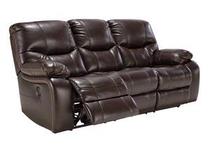 Pranas Brindle Reclining Sofa,Signature Design by Ashley