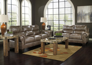 Vevinia Sable Sofa & Loveseat
