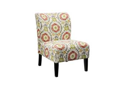 Honnally Floral Accent Chair
