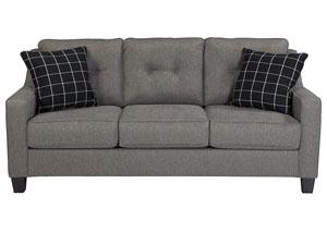 Brindon Charcoal Sofa,Benchcraft