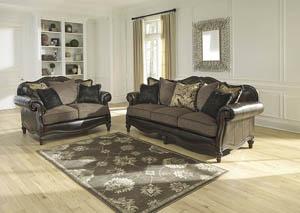 Winnsboro DuraBlend Vintage Sofa and Loveseat,Signature Design by Ashley