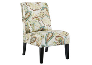 Annora Paisley Accent Chair,ABF Signature Design by Ashley