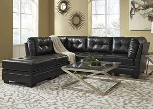 Khalil DuraBlend® Black Modular Sectional,Signature Design by Ashley