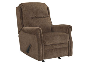 Earles Flannel Rocker Recliner,Signature Design by Ashley
