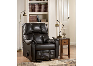 Rutledge Java Rocker Recliner,Signature Design by Ashley