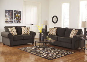 Deandre Java Sofa & Loveseat