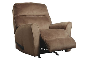Cossette Cocoa Rocker Recliner,Signature Design by Ashley