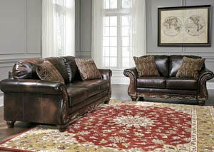 Vanceton Antique Sofa and Loveseat,Signature Design by Ashley