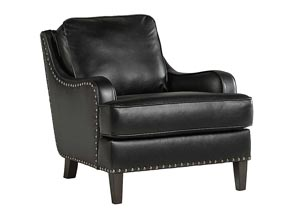 Laylanne Black Accent Chair
