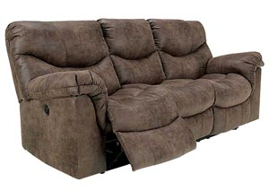 Alzena Gunsmoke Reclining Sofa,Signature Design by Ashley
