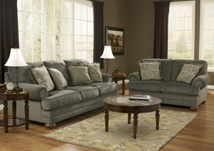 Parcal Estates Basil Sofa & Loveseat,Signature Design by Ashley
