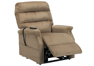 Brenyth Mocha Power Lift Recliner,Signature Design by Ashley