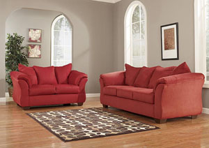 Darcy Salsa Sofa & Loveseat,ABF Signature Design by Ashley