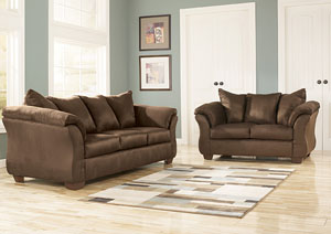 Darcy Cafe Sofa & Loveseat,ABF Signature Design by Ashley