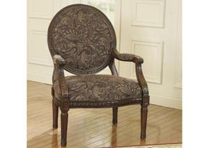 Macneill Umber Accent Chair