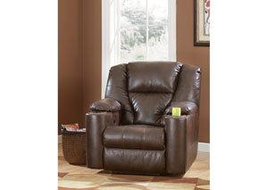 Paramount DuraBlend Brindle Power Recliner,Signature Design by Ashley