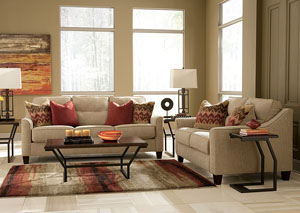 Lucinda Quartz Sofa & Loveseat
