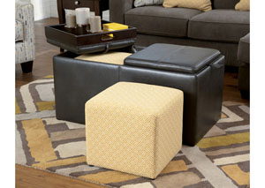 Hodan Marble Ottoman w/ Storage,ABF Signature Design by Ashley