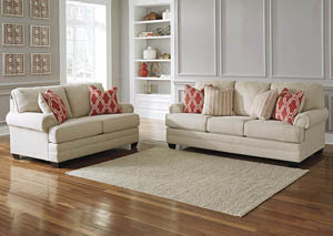 Sansimeon Stone Sofa and Loveseat,Benchcraft