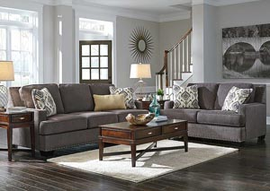 Barinteen Granite Sofa & Loveseat,Benchcraft