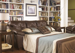 San Lucas Brown Queen Sofa Sleeper