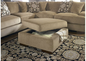 Grenada Mocha Ottoman With Storage