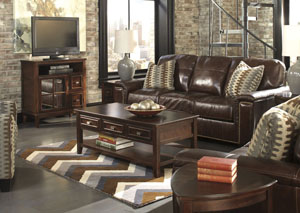 Tivona Coffee Sofa & Loveseat