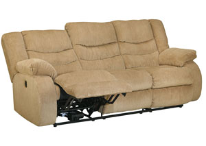 Garek Sand Reclining Sofa,Signature Design by Ashley
