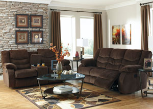 Garek Cocoa Reclining Sofa & Loveseat,Signature Design by Ashley
