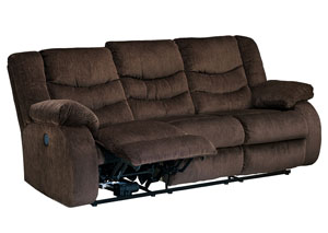 Garek Cocoa Reclining Sofa,Signature Design by Ashley