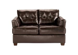 DuraBlend Chocolate Loveseat