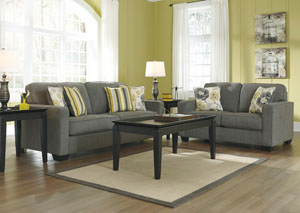 Safia Slate Sofa & Loveseat