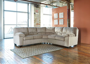 Dailey Alloy Sectional,Signature Design by Ashley
