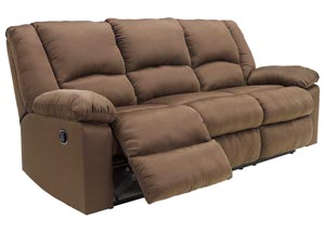 Patrickson Coffee Reclining Sofa