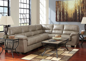 Parkstown Pebble Left Facing Extended Sectional