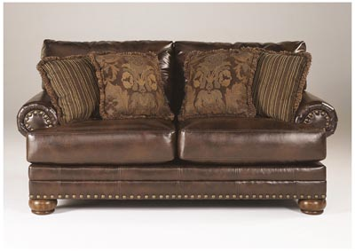 DuraBlend Antique Loveseat,Signature Design by Ashley