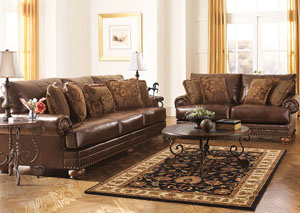 DuraBlend Antique Sofa & Loveseat,Signature Design by Ashley