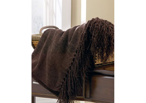 Espresso Revere Throw,Signature Design by Ashley